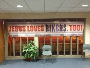Jesus loves bikers too!